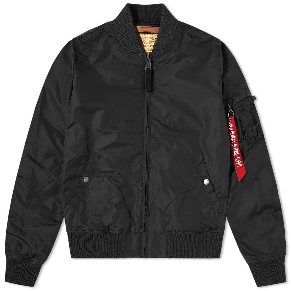アルファ インダストリーズ Alpha Industries メンズ ブルゾン アウター【MA-1 TT Jacket】Black