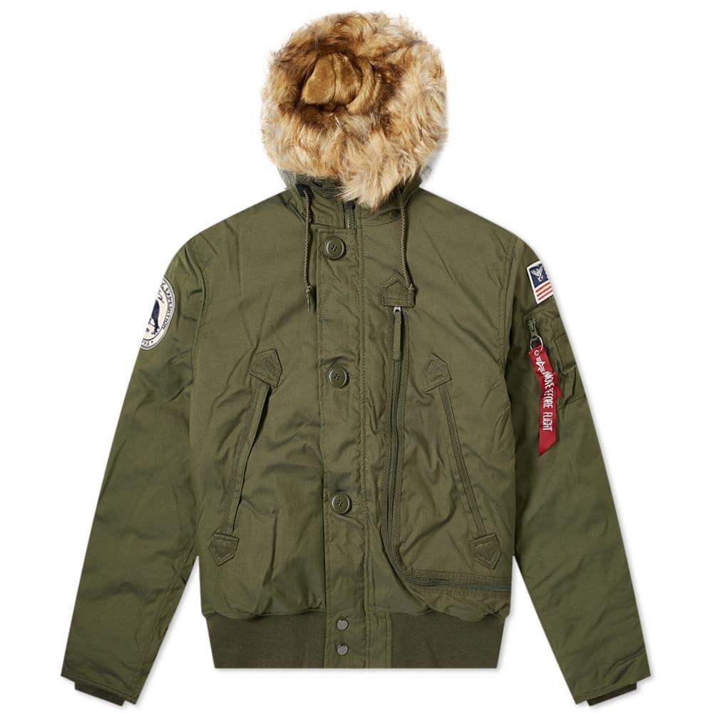 アルファ インダストリーズ Alpha Industries メンズ ブルゾン アウター【MA-1 Polar Jacket SV】Dark Green