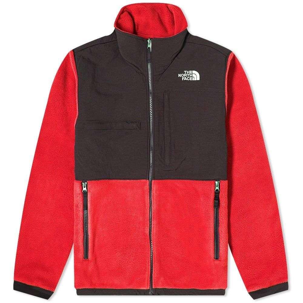 ザ ノースフェイス The North Face メンズ フリース トップス【Denali Fleece Jacket】Red