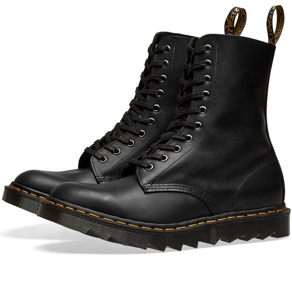 ドクターマーチン Dr Martens メンズ ブーツ シューズ・靴【Dr. Martens 1490 Ripple Sole Boot - Made in England】Black Crossroads
