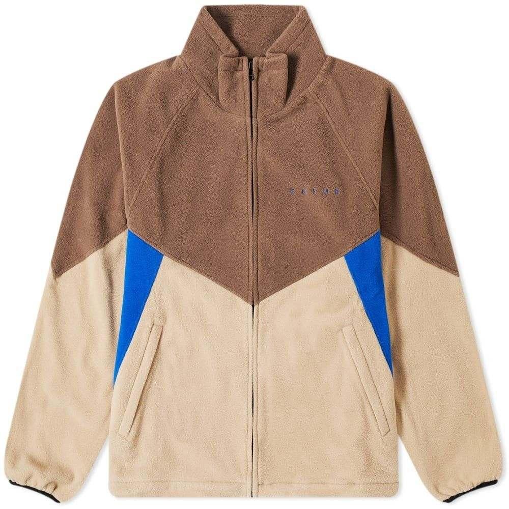 フューチャー Futur メンズ フリース トップス【North Fleece Jacket】Sand