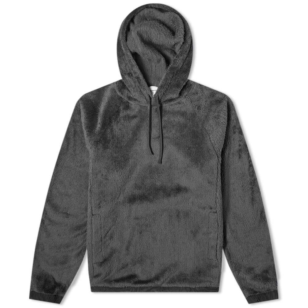 ノースプロジェクト Norse Projects メンズ パーカー トップス【Tycho Sherpa Popover Fleece Hoody】Slate Grey:フェルマート