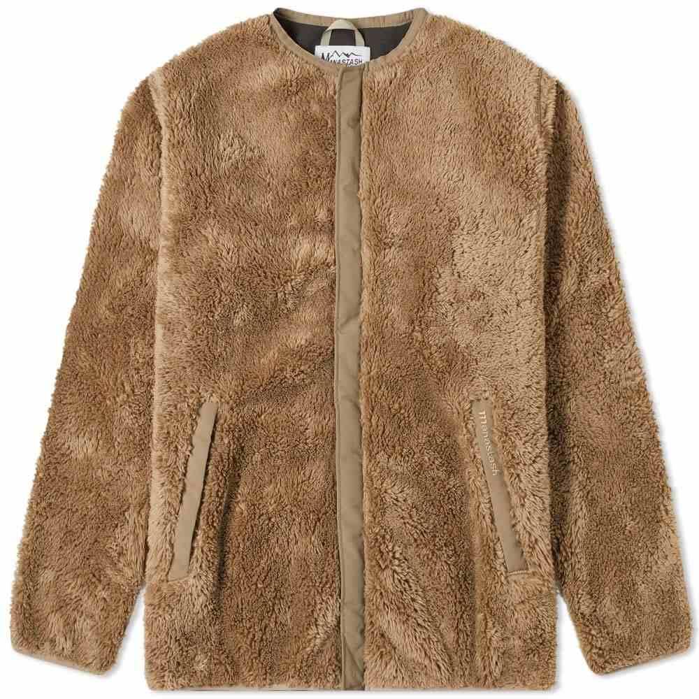 マナスタッシュ Manastash メンズ フリース トップス【Bigfoot Fleece Jacket】Sand