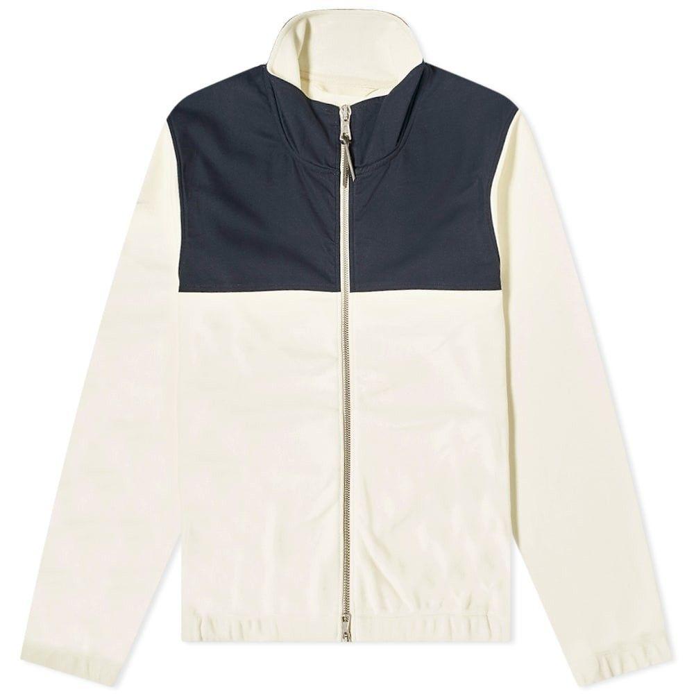アルバム Albam メンズ フリース トップス【Full Zip Fleece Jacket】Ecru