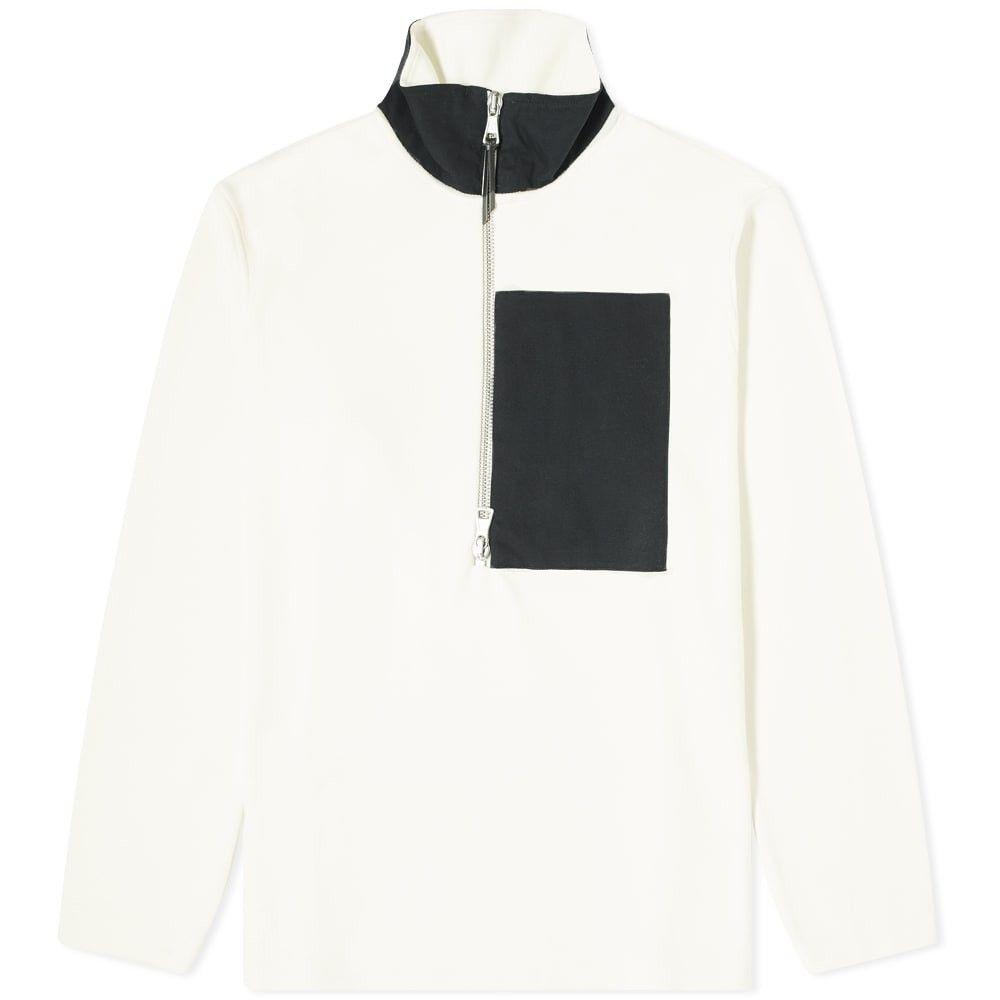 アルバム Albam メンズ フリース トップス【Popover Pocket Fleece】Ecru