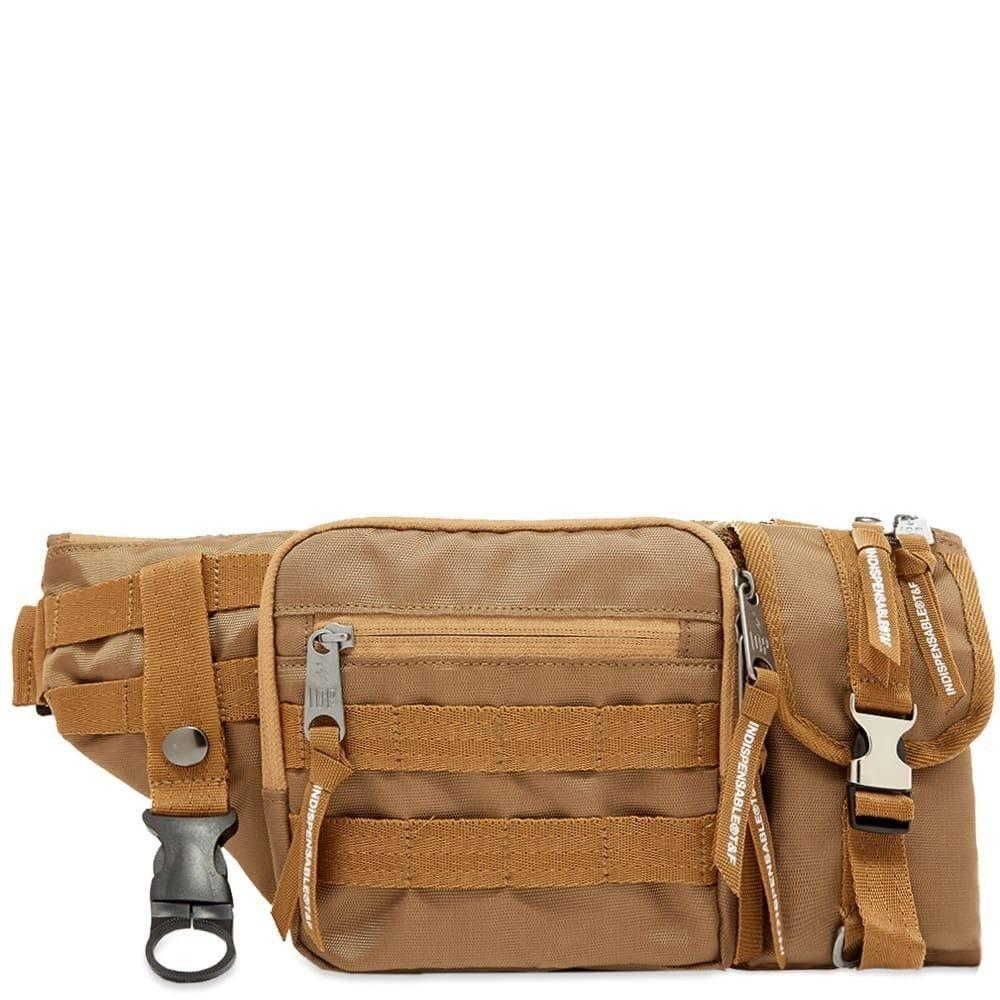 インディスペンサブル Indispensable メンズ ボディバッグ・ウエストポーチ バッグ【Armour Waist Pack】Beige