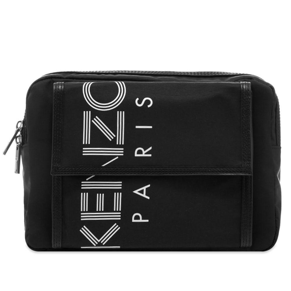 ケンゾー Kenzo メンズ ボディバッグ・ウエストポーチ バッグ【Paris Logo Chest Rig】Black