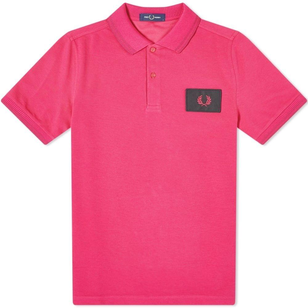 フレッドペリー Fred Perry Authentic メンズ ポロシャツ トップス【Fred Perry Acid Bright Polo】Modern Pink