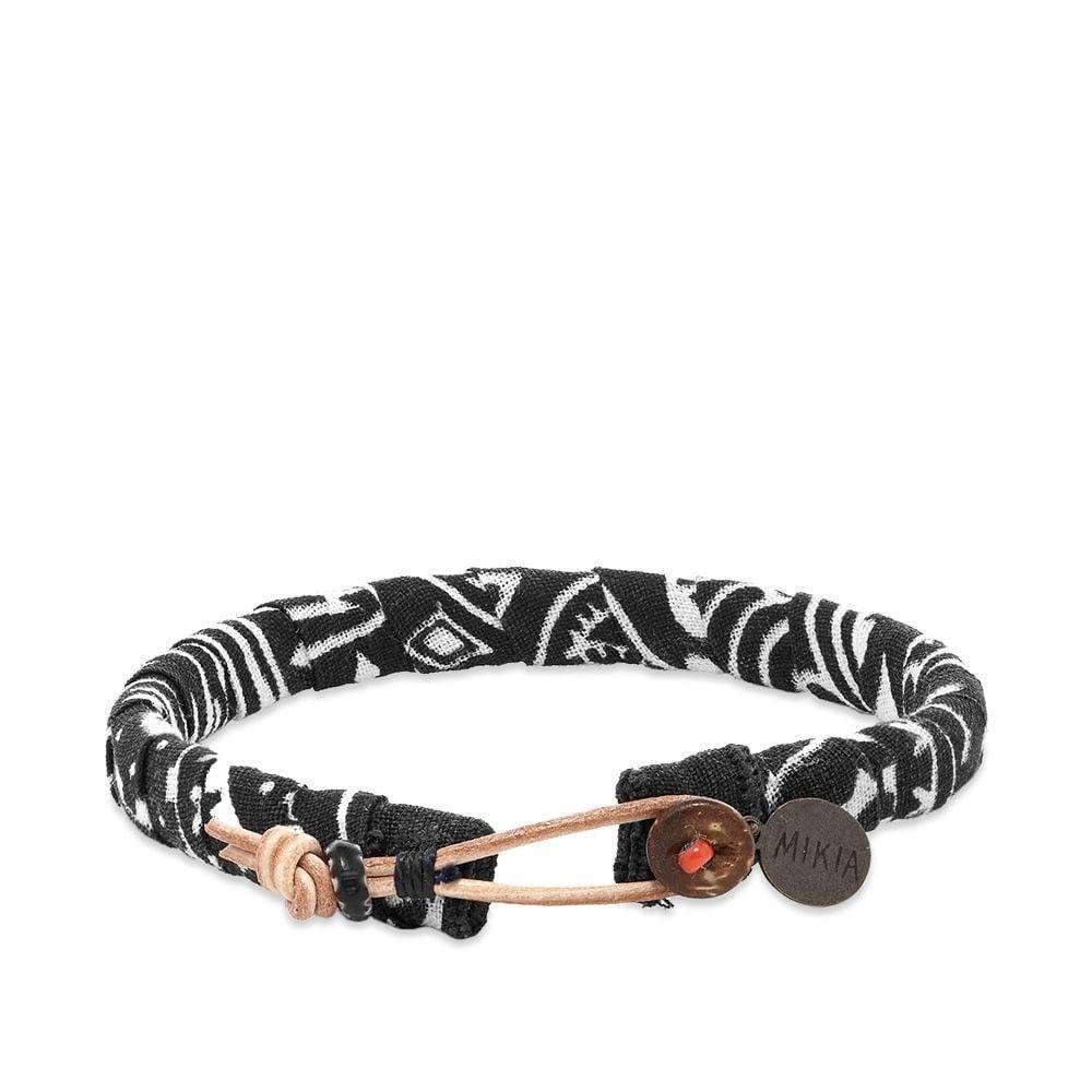 ミキア Mikia メンズ ブレスレット ジュエリー・アクセサリー【Bandana Bracelet】Black
