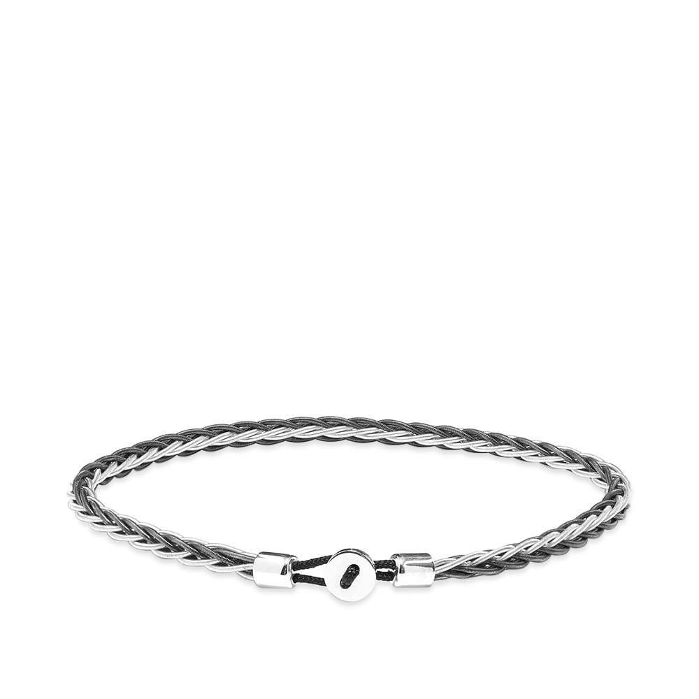 ミアンサイ Miansai メンズ ブレスレット ジュエリー・アクセサリー【Nexus Wire Bracelet】Black/Steel