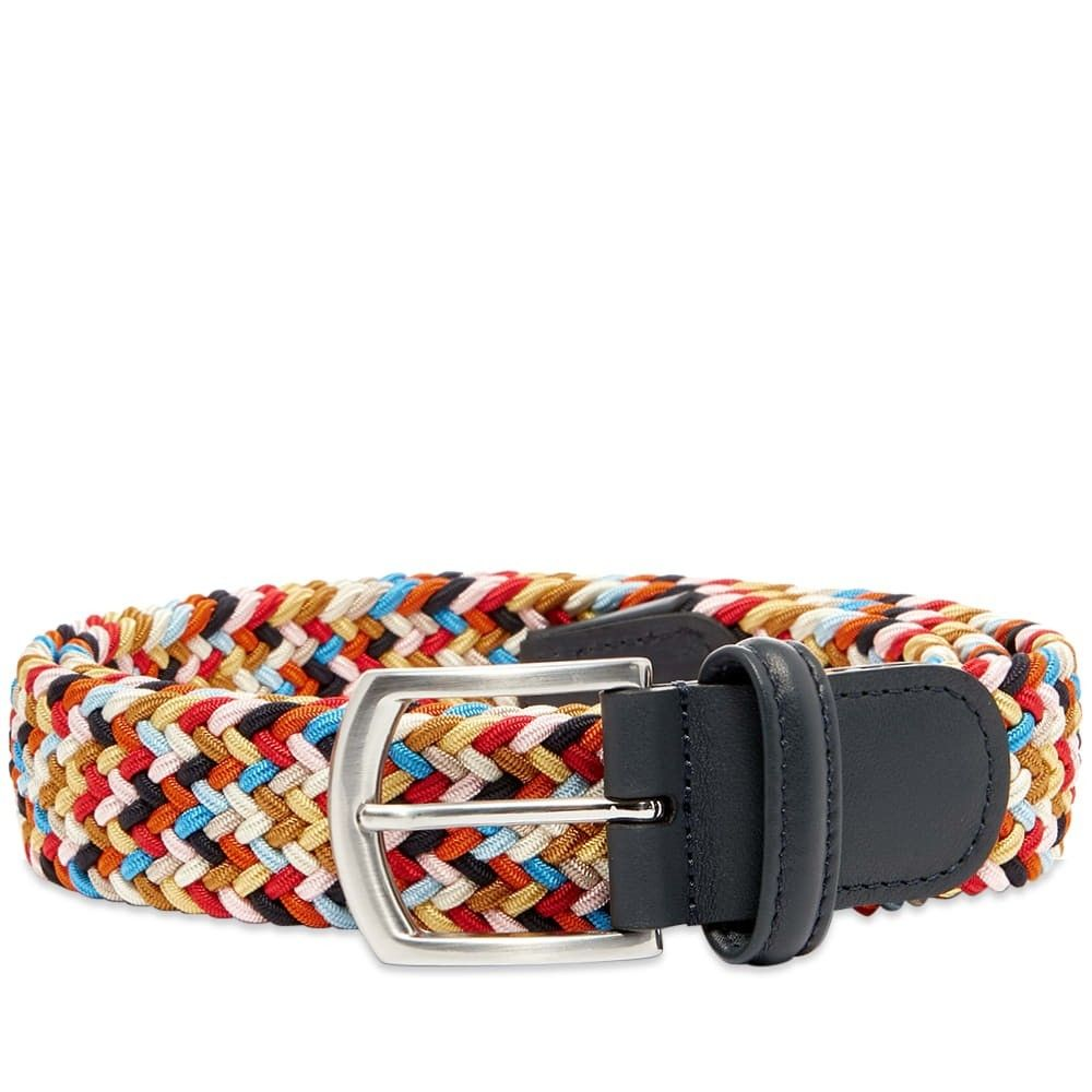 アンダーソンズ Andersons メンズ ベルト 【Anderson's Woven Textile Belt】Multi