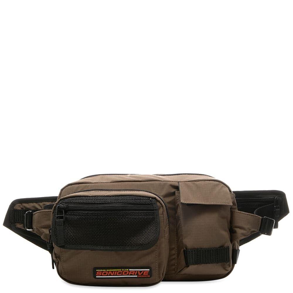 アディダス Adidas Consortium メンズ ボディバッグ・ウエストポーチ バッグ【Adidas Waist Bag】Grey
