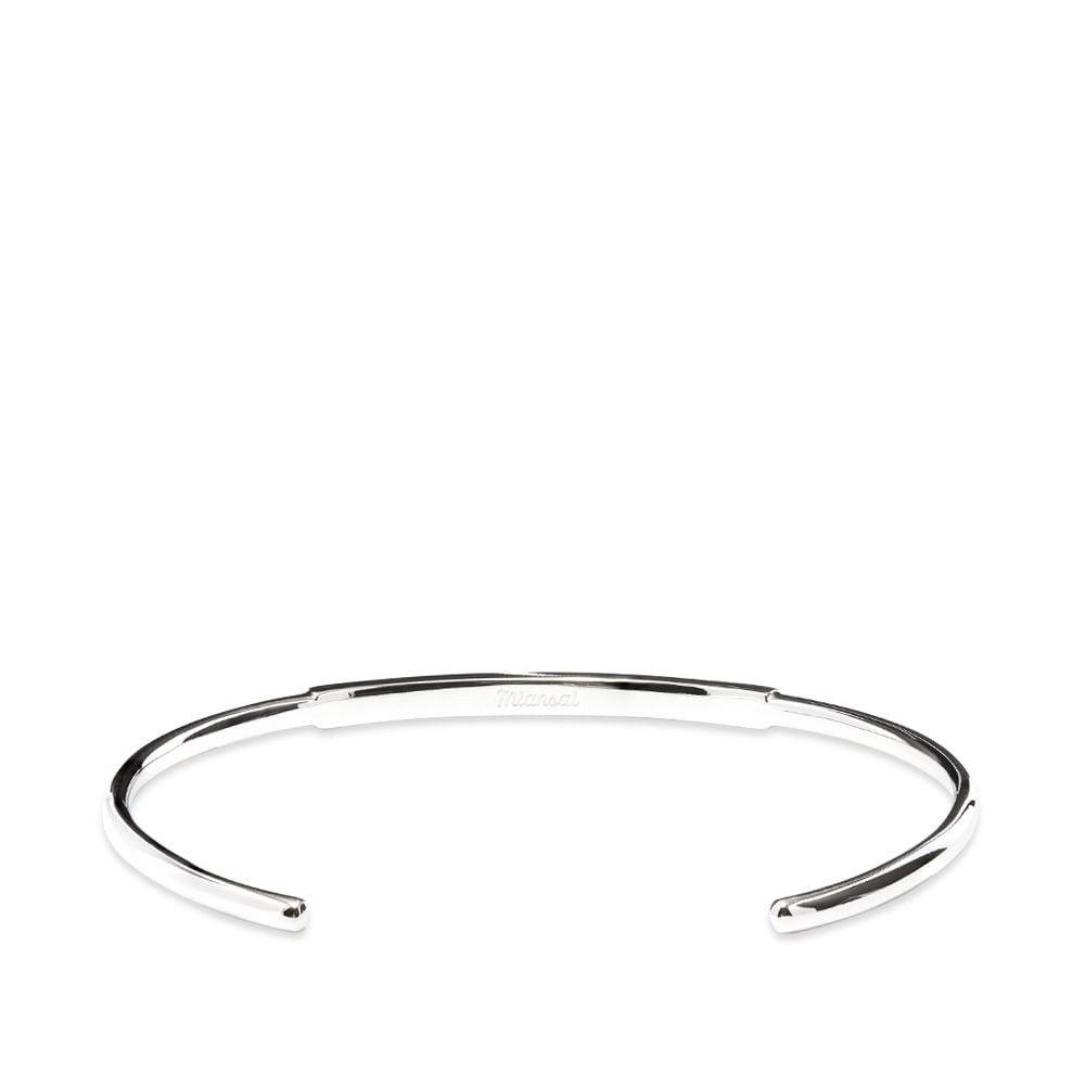 ミアンサイ Miansai メンズ ブレスレット ジュエリー・アクセサリー【ID Cuff】Silver