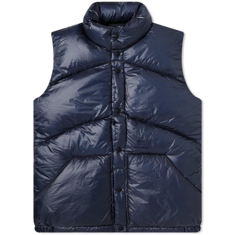 ウールリッチ Woolrich メンズ ベスト・ジレ ダウンベスト トップス【Outdoors Powder Snow Down Vest】Navy