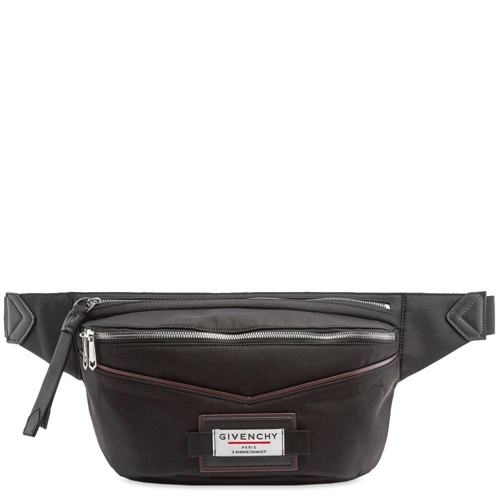 ジバンシー Givenchy メンズ ボディバッグ・ウエストポーチ バッグ【Label Bum Bag】Black