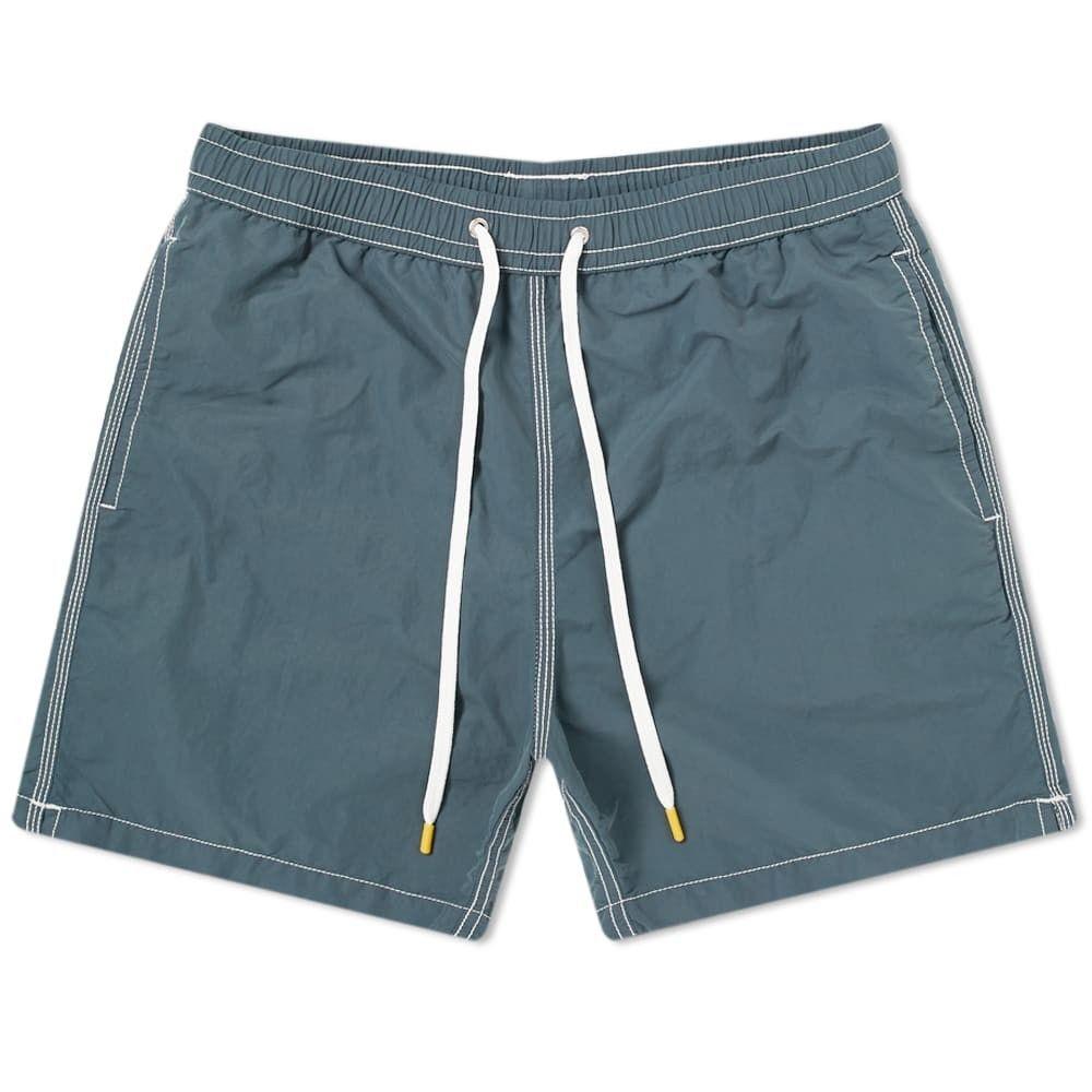 ハートフォード Hartford メンズ 海パン 水着・ビーチウェア【Garment Dyed Swim Short】Graphite
