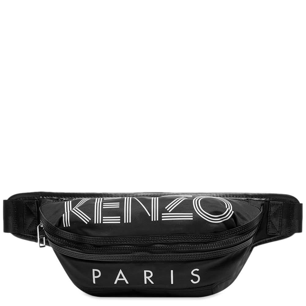 ケンゾー Kenzo メンズ ボディバッグ・ウエストポーチ バッグ【Paris Sport Logo Waist Bag】Black