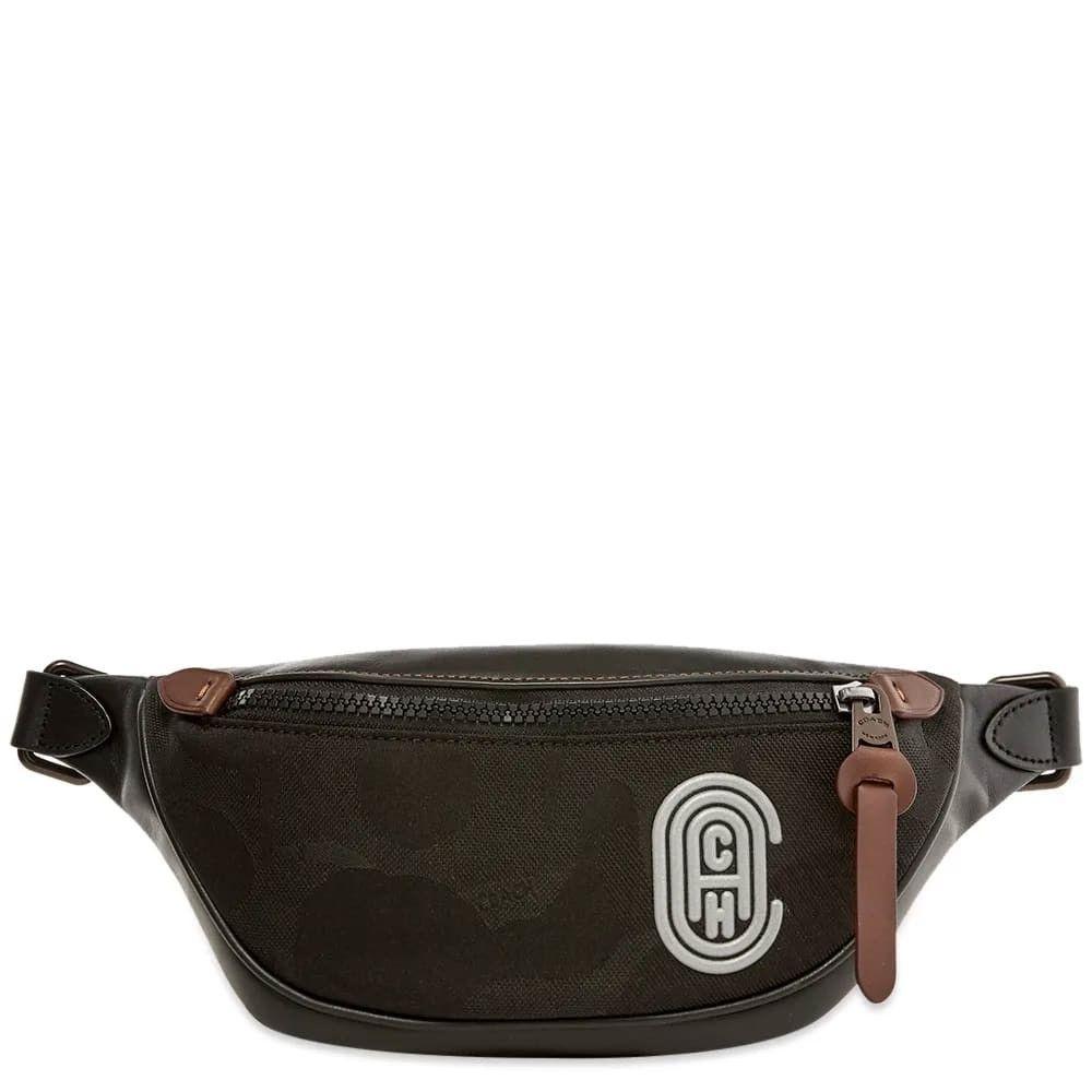 コーチ Coach メンズ ボディバッグ・ウエストポーチ バッグ【Retro Rivington Belt Bag】Black
