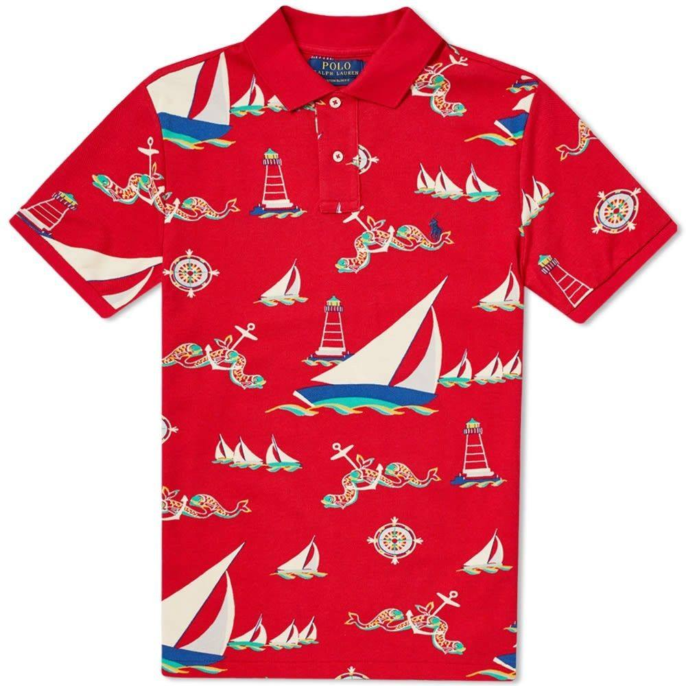 ラルフ ローレン Polo Ralph Lauren メンズ ポロシャツ トップス【Nautical Polo】Ocean Voyage