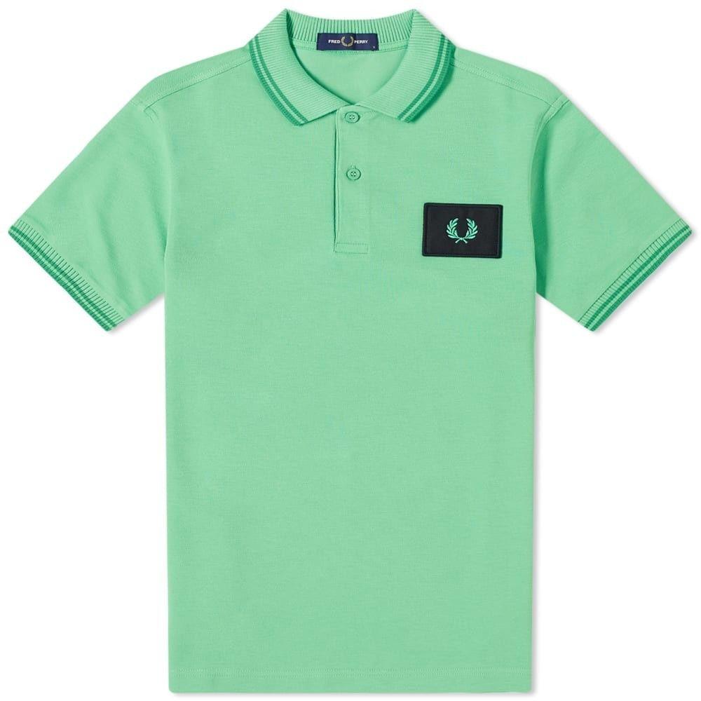 フレッドペリー Fred Perry Authentic メンズ ポロシャツ トップス【Fred Perry Acid Bright Polo】Modern Green