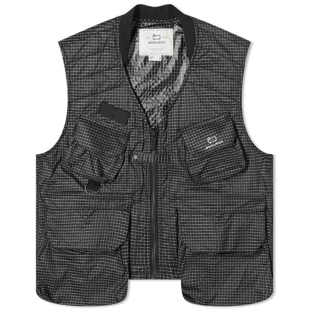 ウールリッチ Woolrich メンズ ベスト・ジレ トップス【Outdoors Tsunooga Ripstop Trek Vest】Black
