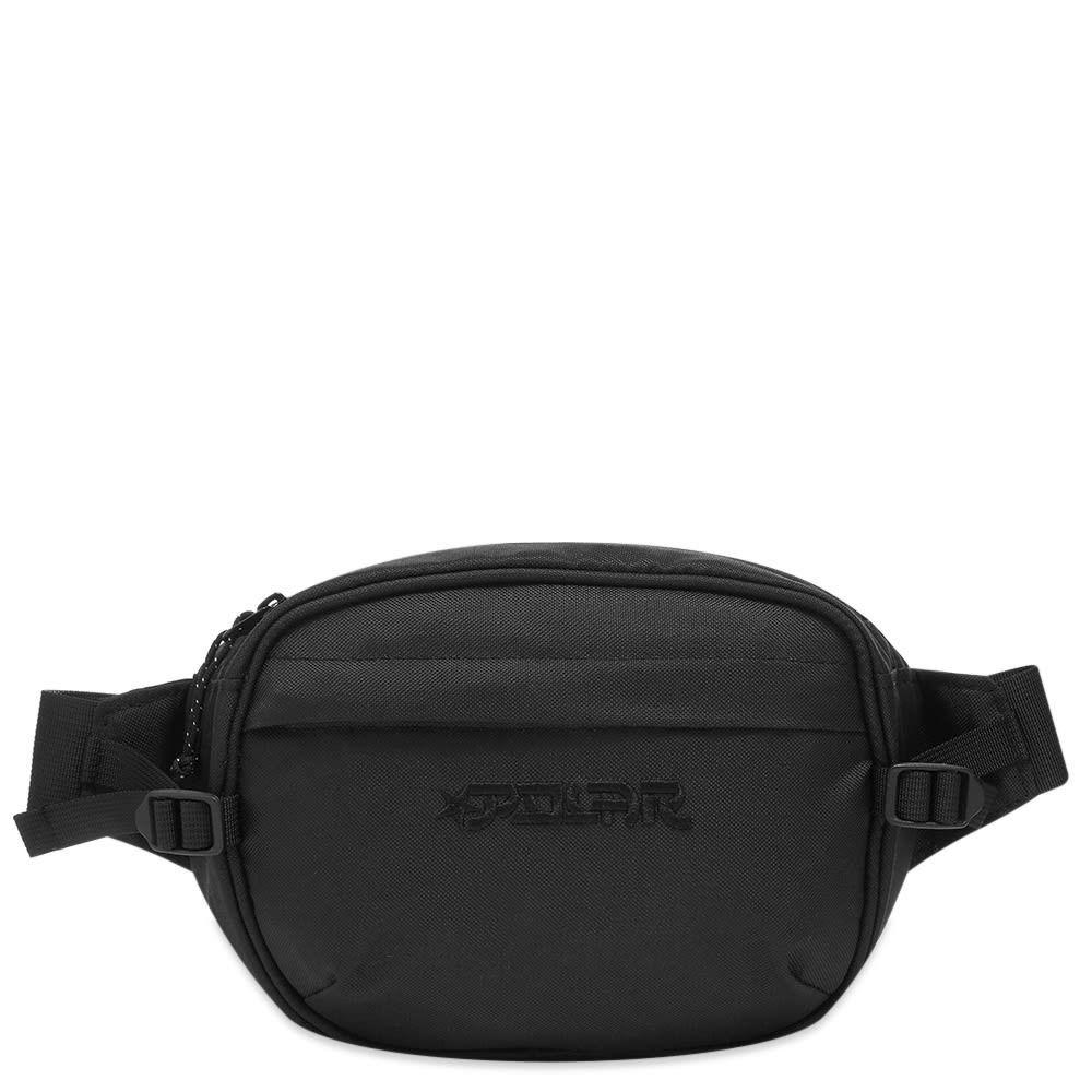 ポーラー スケート カンパニー Polar Skate Co. メンズ ボディバッグ・ウエストポーチ バッグ【Star Cordura Hip Bag】Black