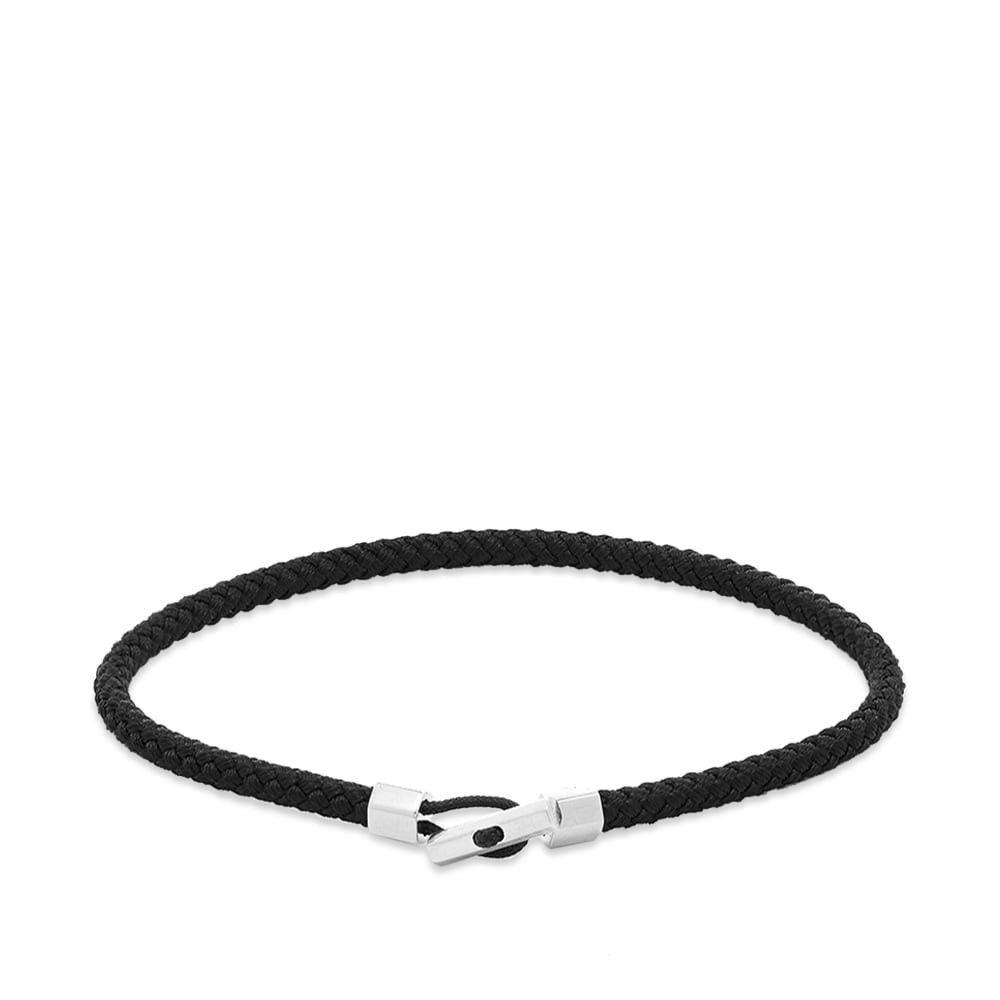 ミアンサイ Miansai メンズ ブレスレット ジュエリー・アクセサリー【Vice Rope Bracelet】Silver/Black