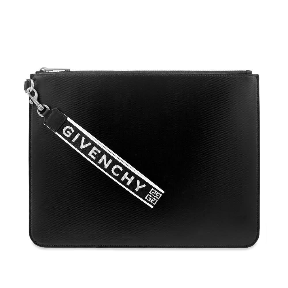 ジバンシー メンズ 財布・時計・雑貨 ポーチ Black 【サイズ交換無料】 ジバンシー Givenchy メンズ ポーチ 【4G Webbing Canvas Pouch】Black