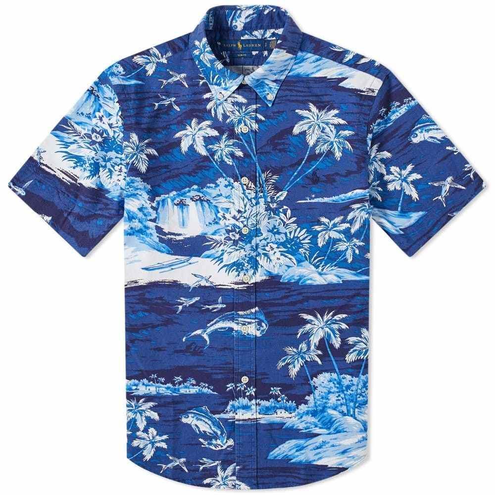 ラルフ ローレン Polo Ralph Lauren メンズ 半袖シャツ トップス【Short Sleeve Flying Fish Button Down Oxford Shirt】Flying Fish