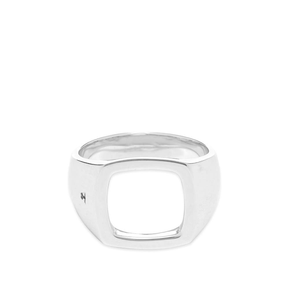トムウッド Tom Wood メンズ 指輪・リング ジュエリー・アクセサリー【Cushion Open Ring】Sterling Silver