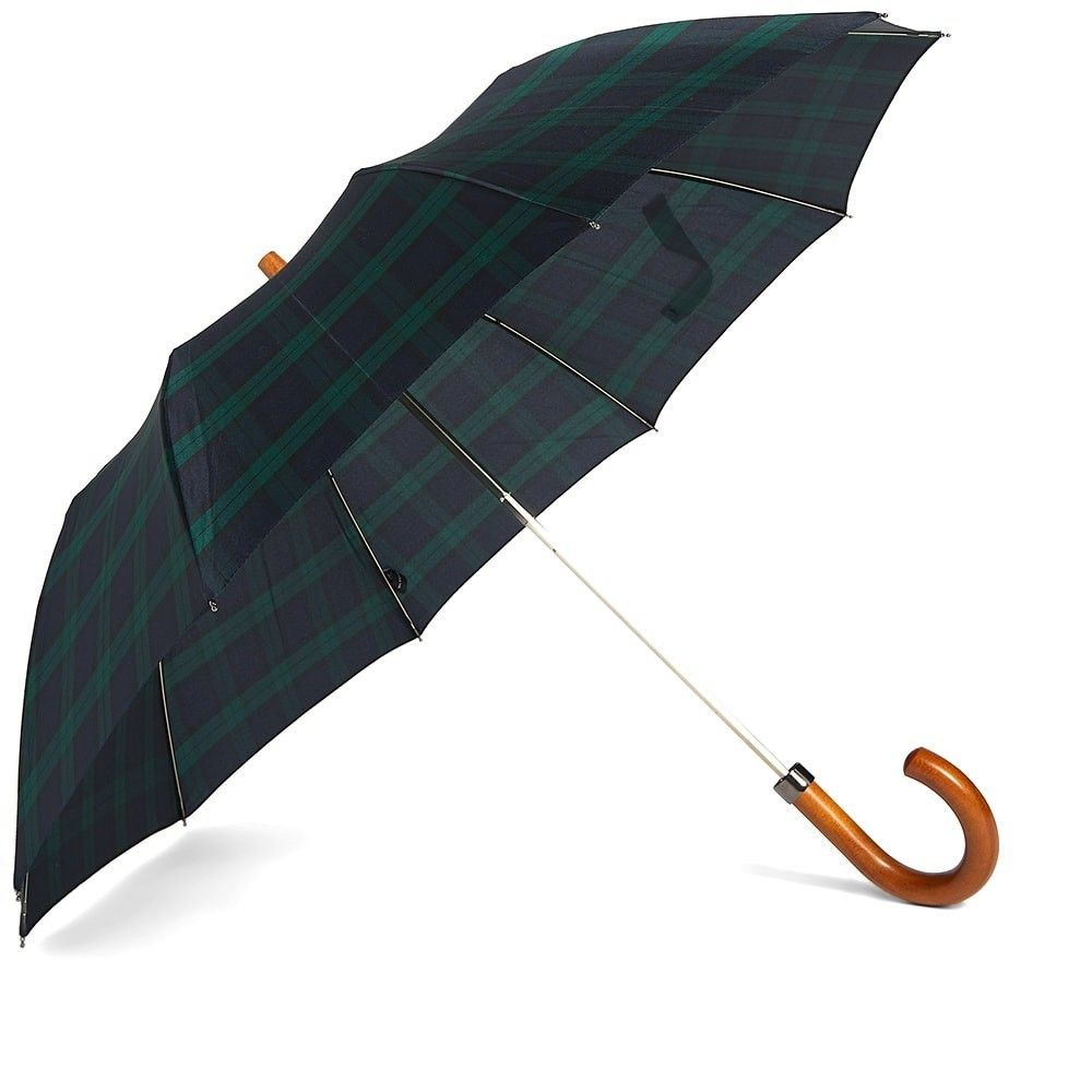 ロンドンアンダーカバー London Undercover メンズ 傘 【Maple Telescopic Umbrella】Black Watch
