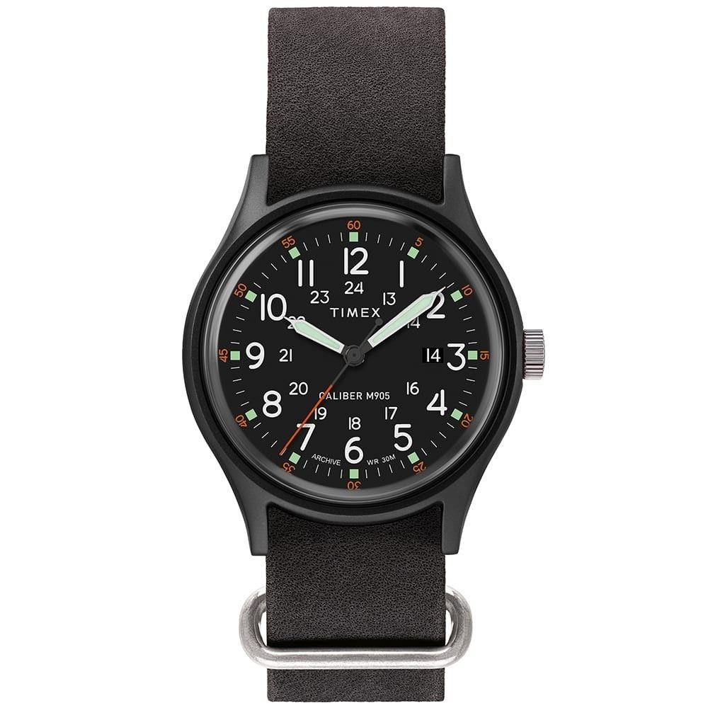 タイメックス Timex メンズ 腕時計 【Archive Camper MK1 Alu】Black