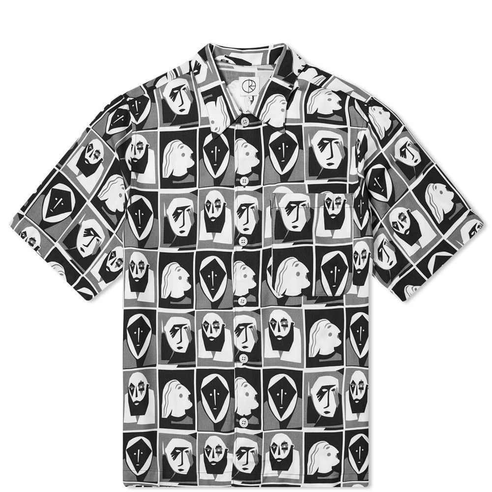 ポーラー スケート カンパニー Polar Skate Co. メンズ 半袖シャツ トップス【Selfie Art Shirt】Black