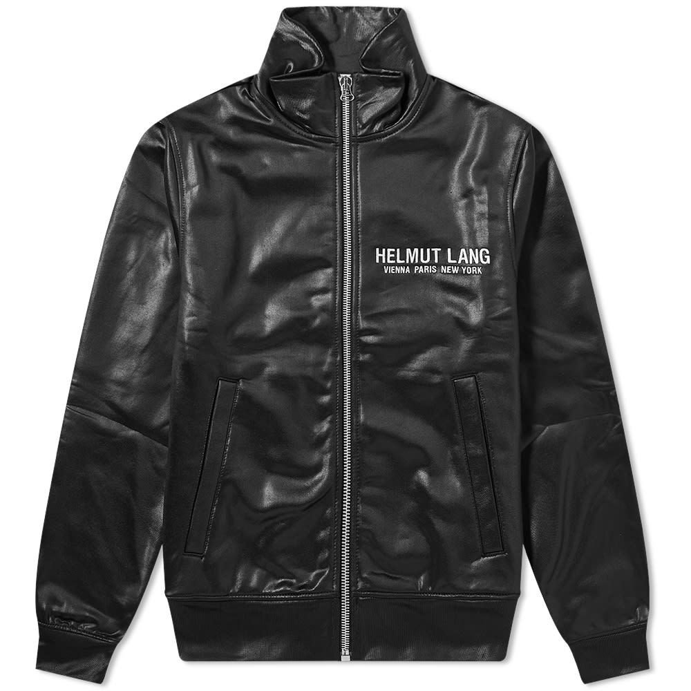 ヘルムート ラング Helmut Lang メンズ ジャージ アウター【Sash Track Jacket】Basalt Black