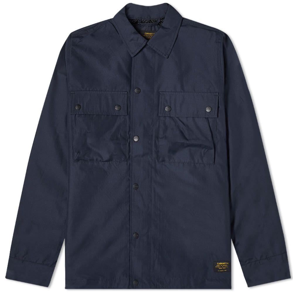 カーハート Carhartt WIP メンズ ジャケット シャツジャケット アウター【Fargo Shirt Jacket】Dark Navy