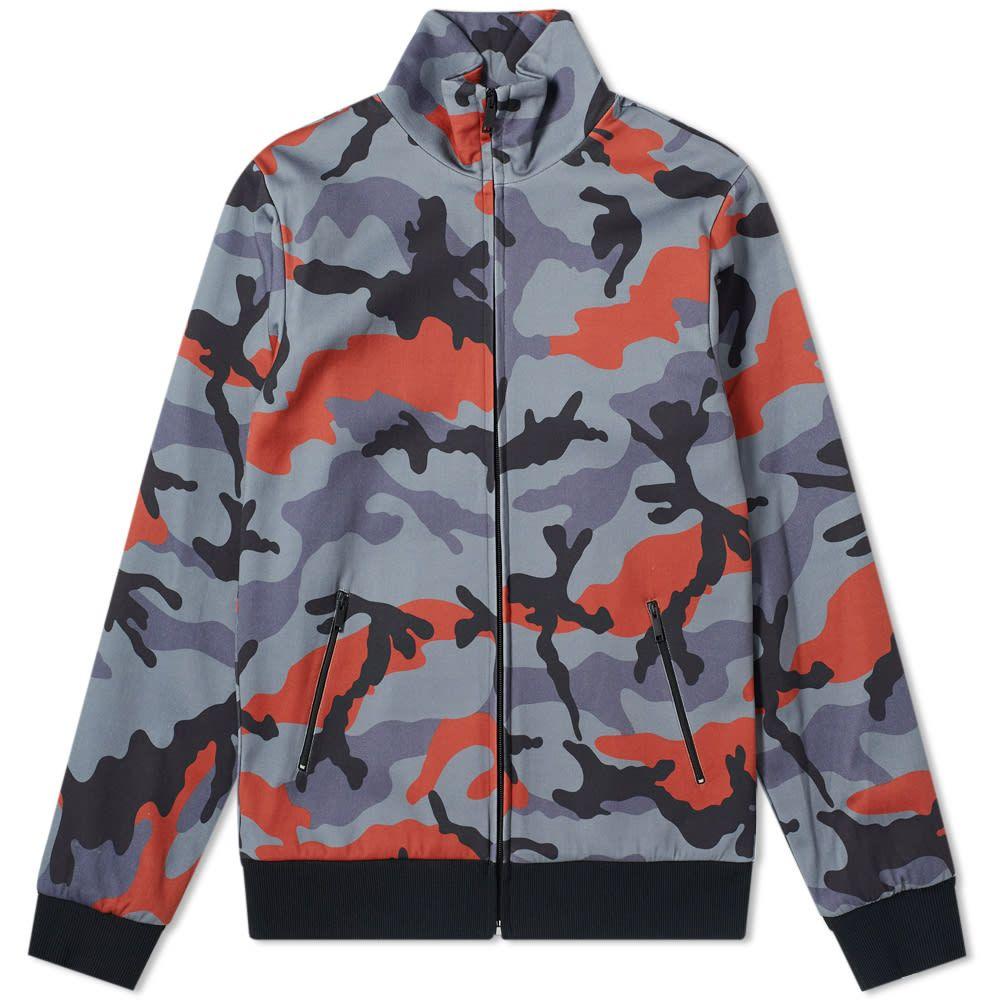 ヴァレンティノ Valentino メンズ ジャージ アウター【Camo Track Jacket】Army/Red