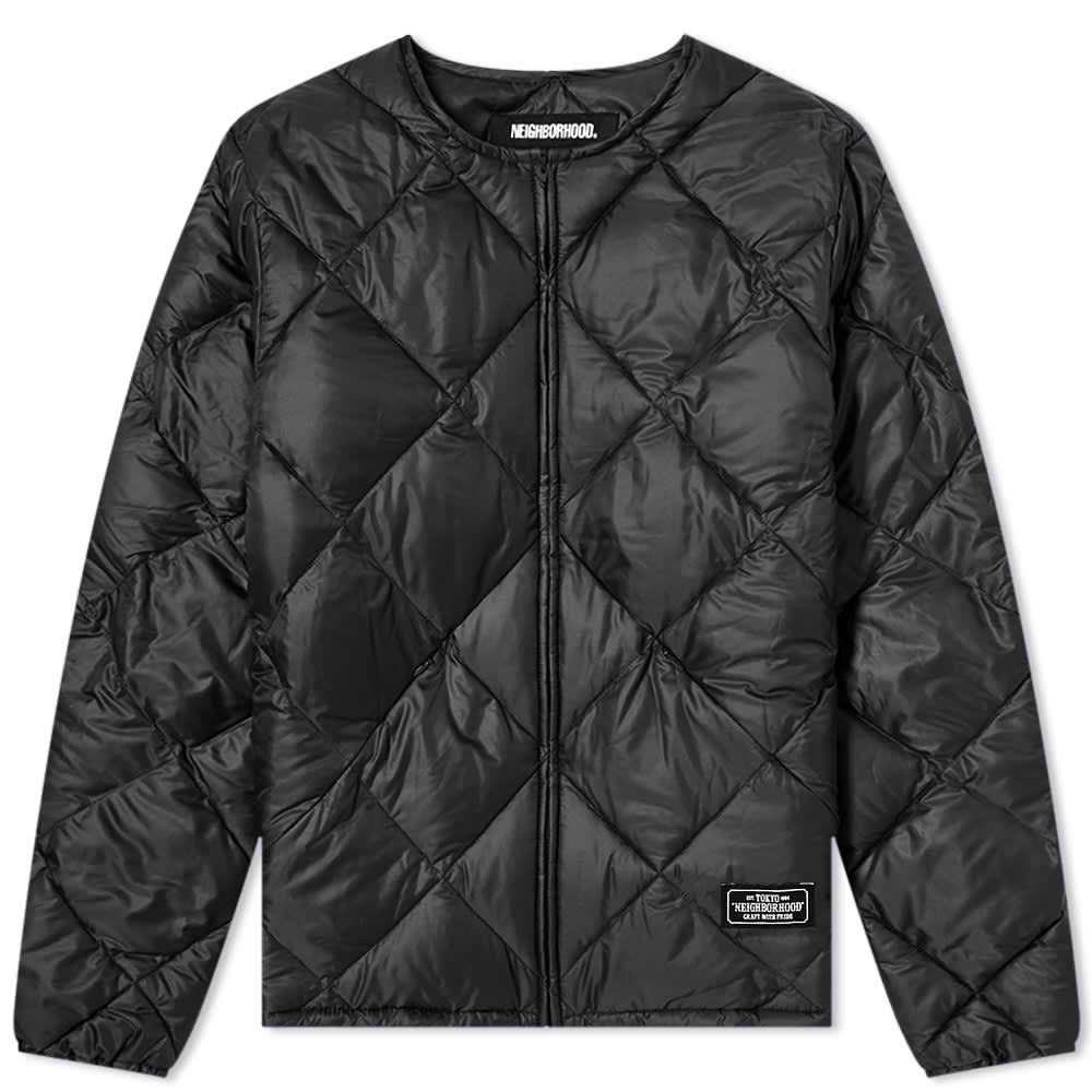 ネイバーフッド Neighborhood メンズ ジャケット アウター【Quilt Jacket】Black