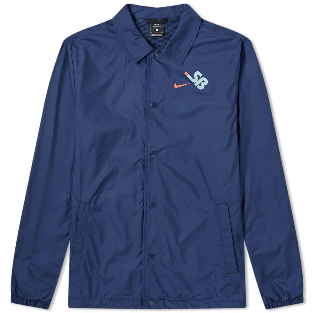 ナイキ Nike SB メンズ ジャケット コーチジャケット アウター【Coaches Jacket】Navy/Armoury Blue