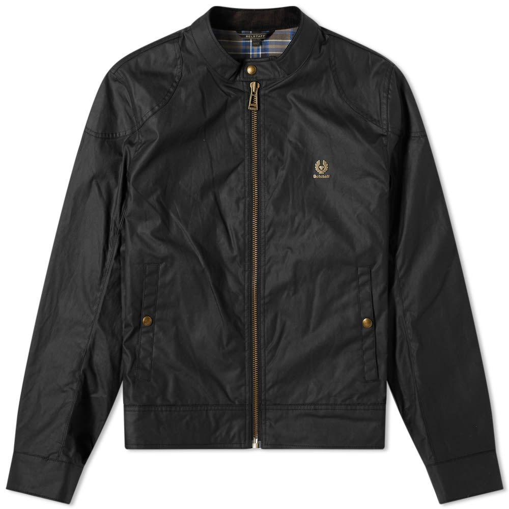ベルスタッフ Belstaff メンズ ジャケット モーターサイクルジャケット アウター【Kelland Waxed Moto Jacket】Black