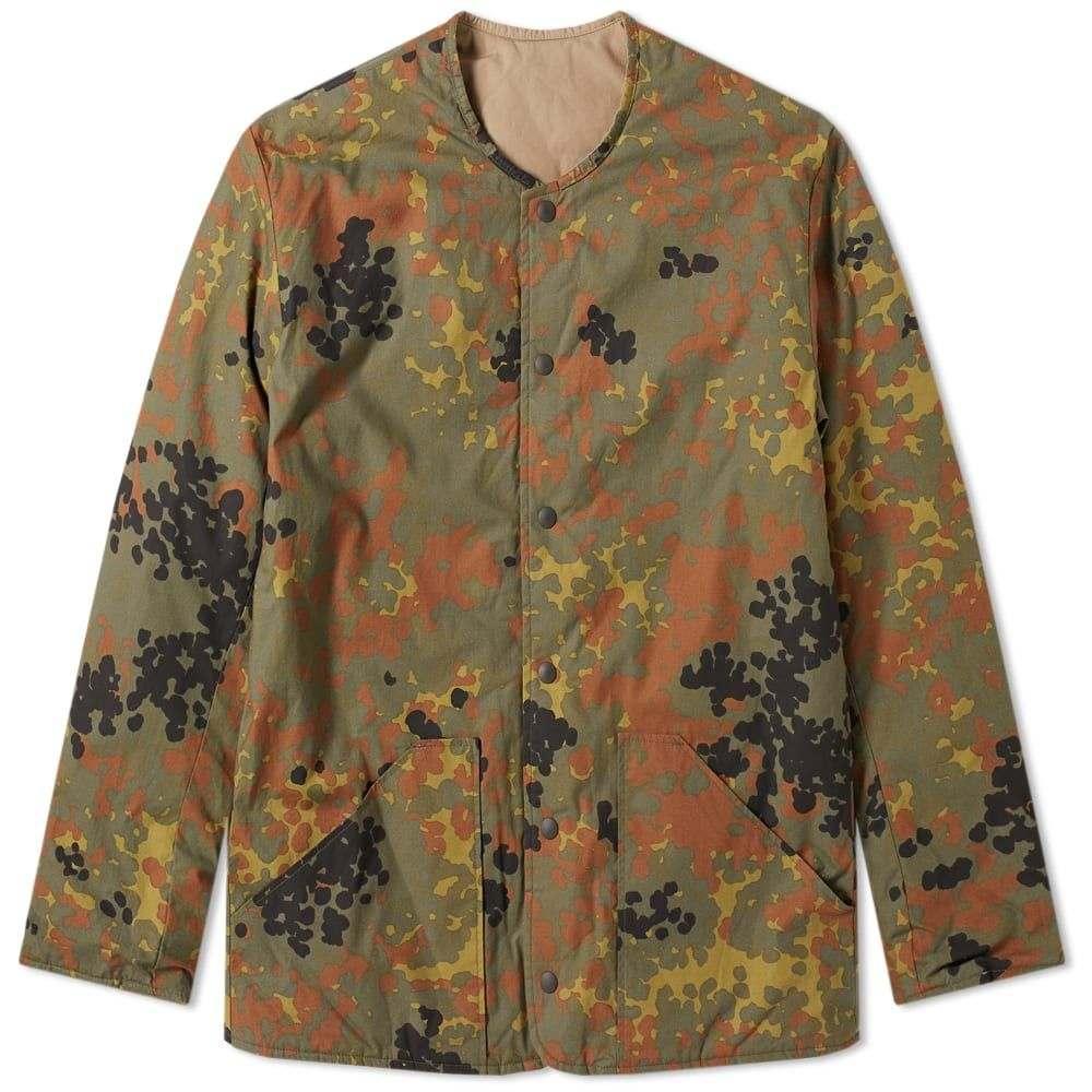 オアスロウ orSlow メンズ ジャケット シェルジャケット アウター【Reversible Shell Jacket】Camo/Khaki