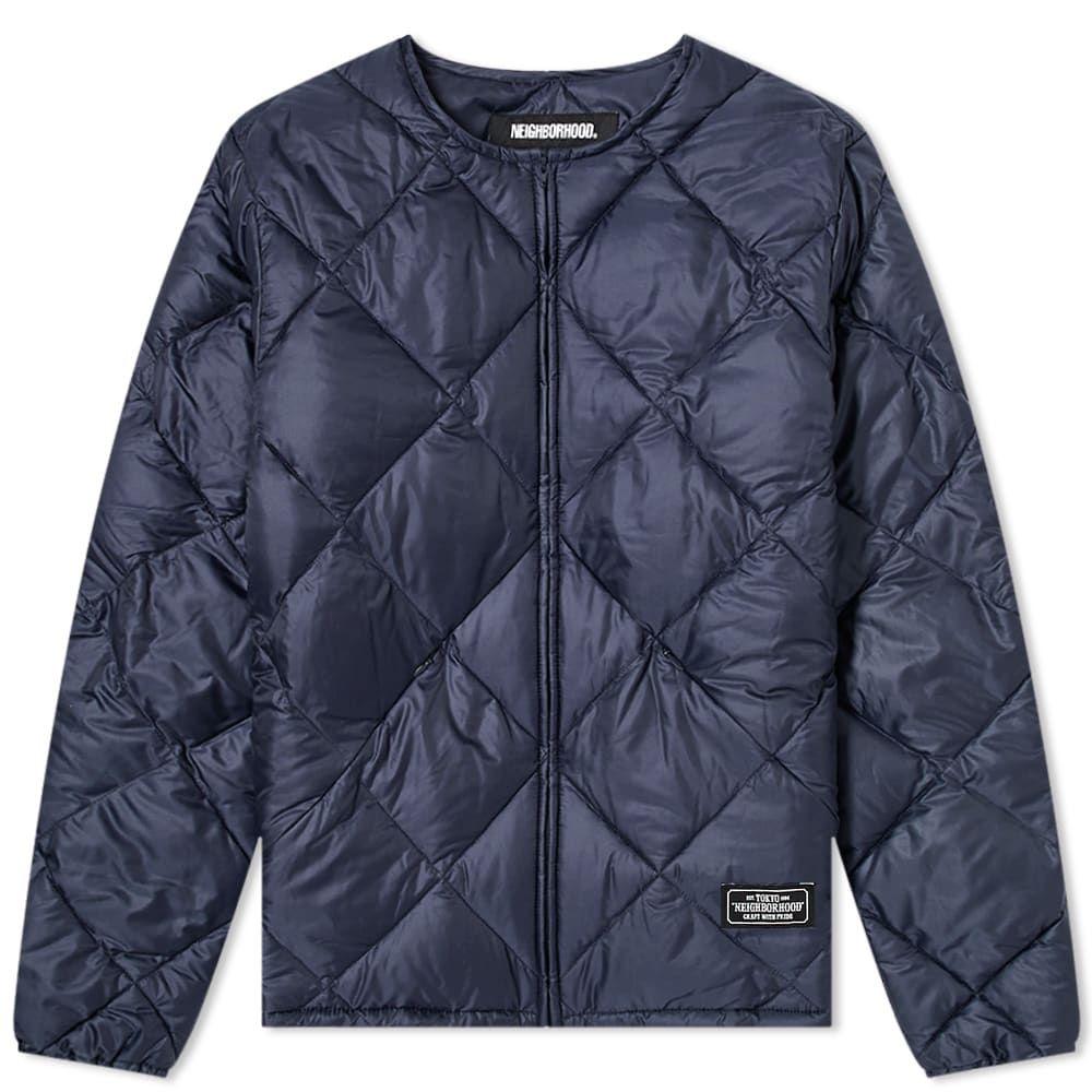 ネイバーフッド Neighborhood メンズ ジャケット アウター【Quilt Jacket】Navy