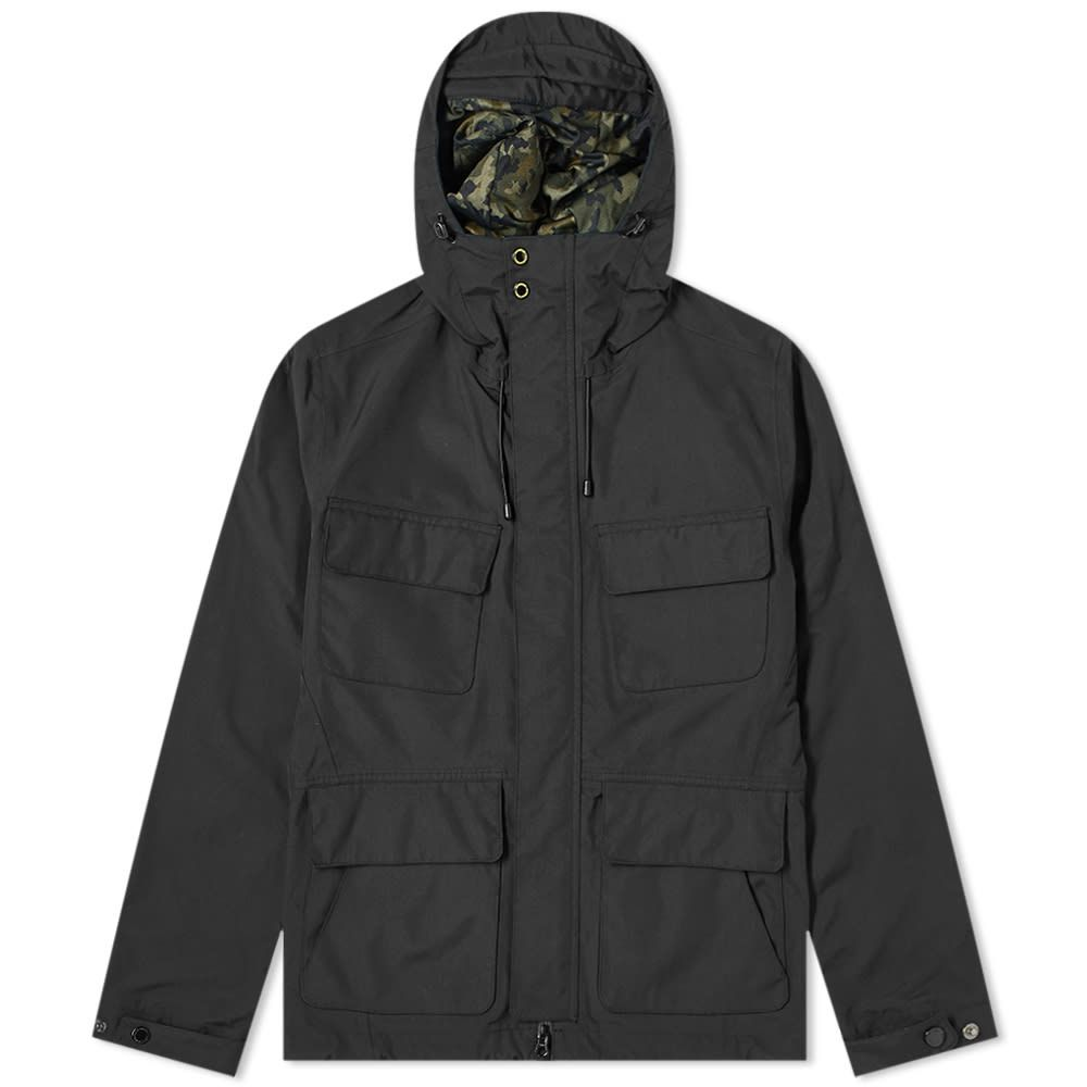 バブアー Barbour メンズ コート アウター【International Holborn Parka】Black