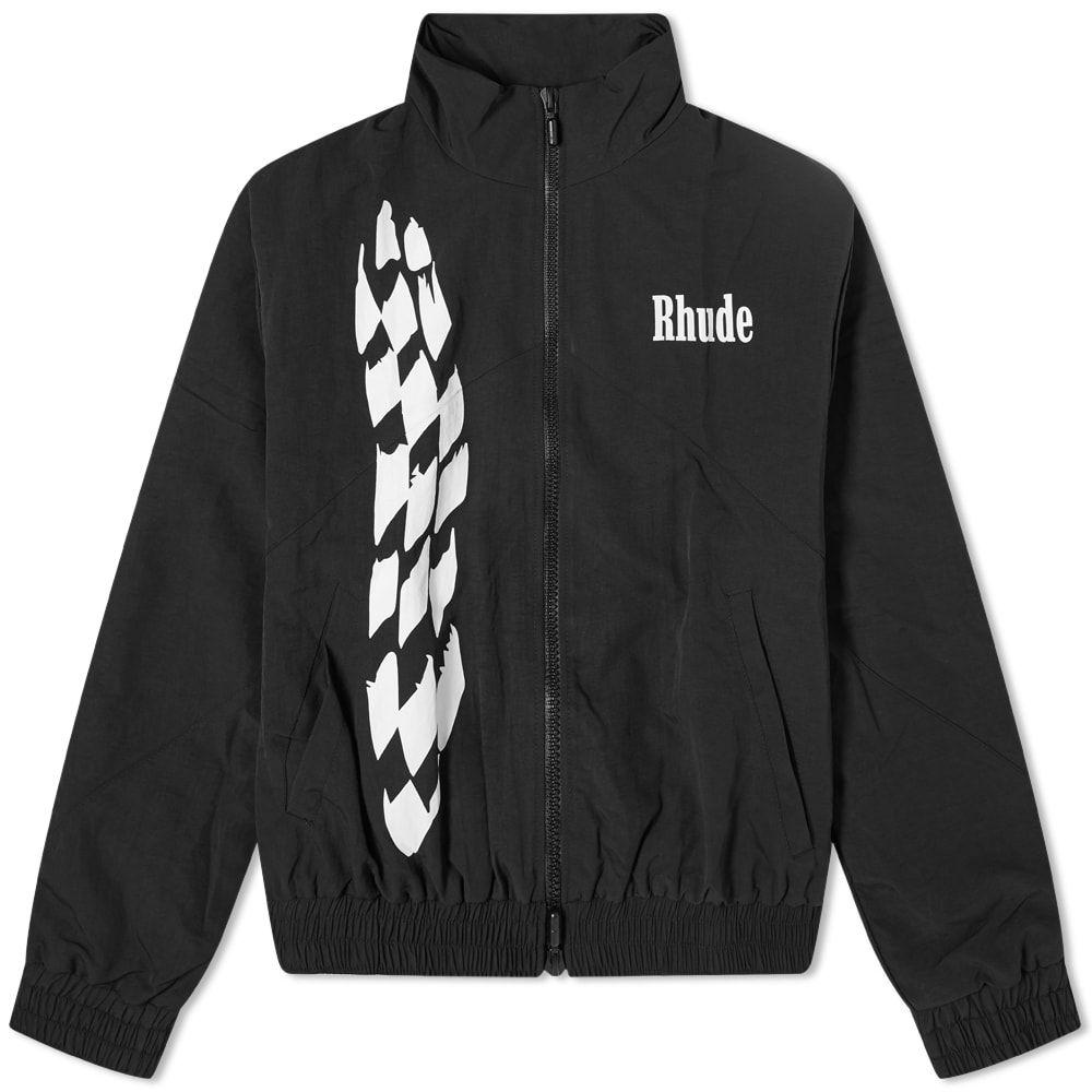 ルード Rhude メンズ ジャージ アウター【Track Jacket】Black
