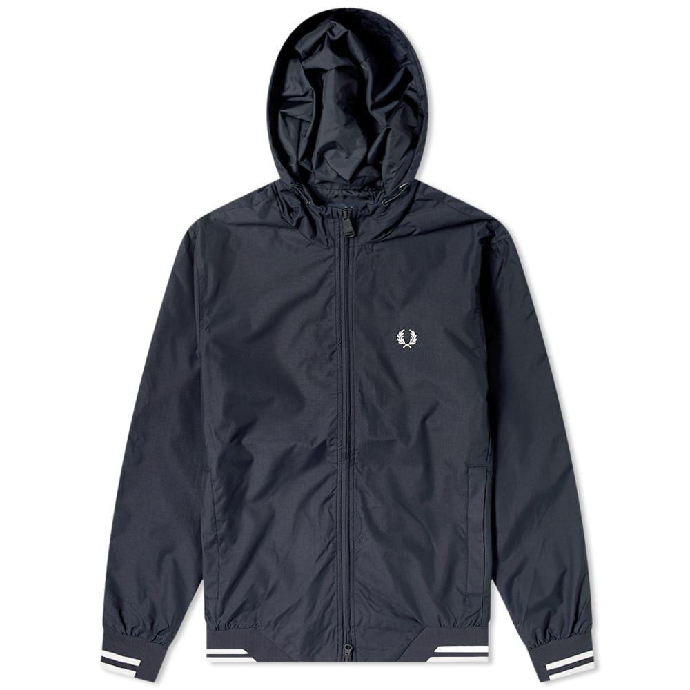 フレッドペリー Fred Perry Authentic メンズ ジャケット フード アウター【Hooded Brentham Jacket】Navy