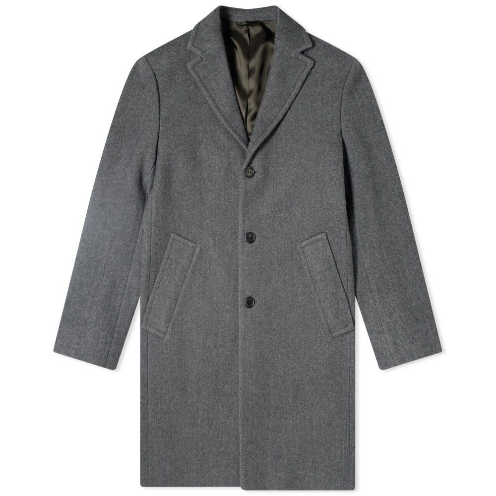 アクネ ストゥディオズ Acne Studios メンズ コート アウター【Ovidius Wool Coat】Grey Melange