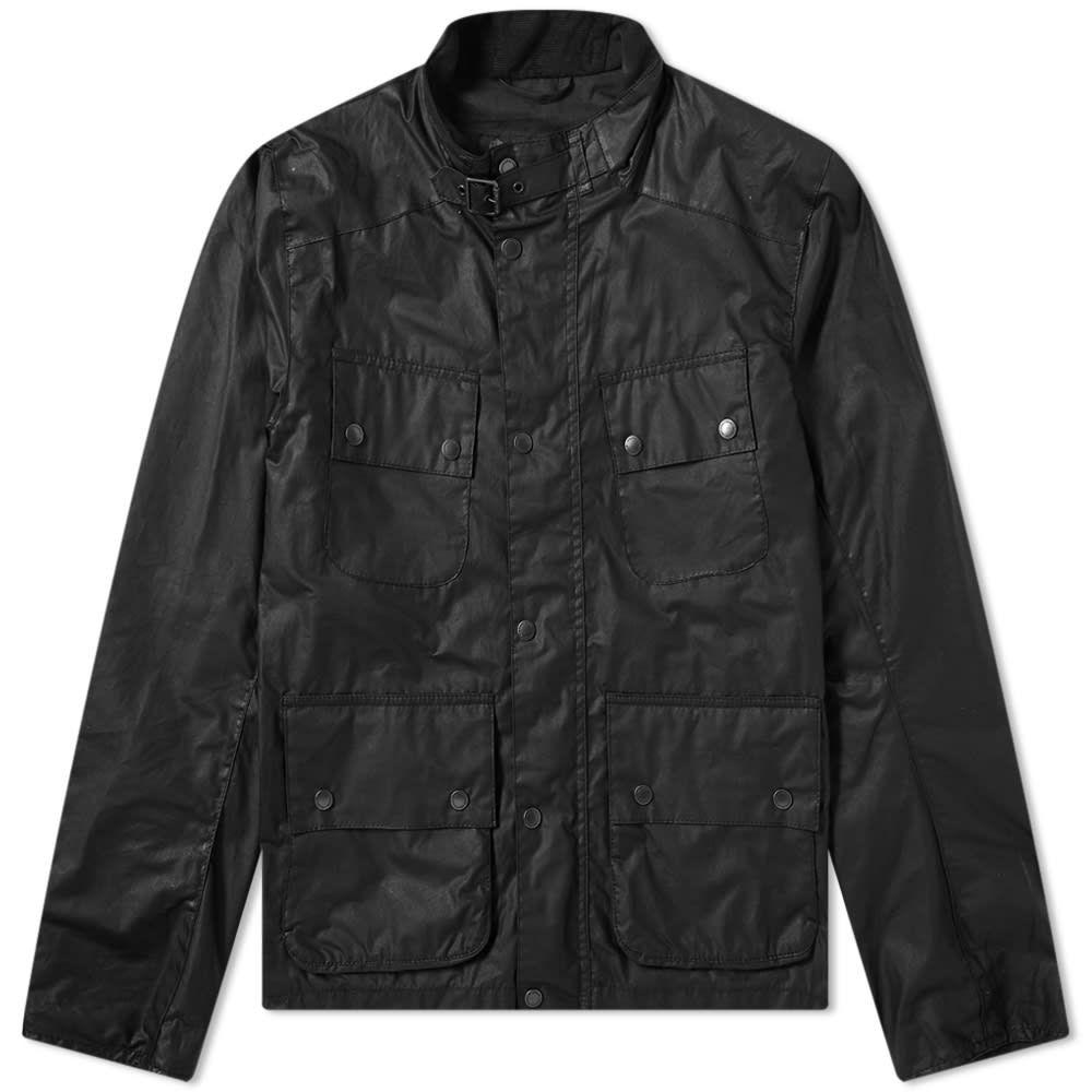 バブアー Barbour メンズ ジャケット アウター【International Alford Wax Jacket】Black