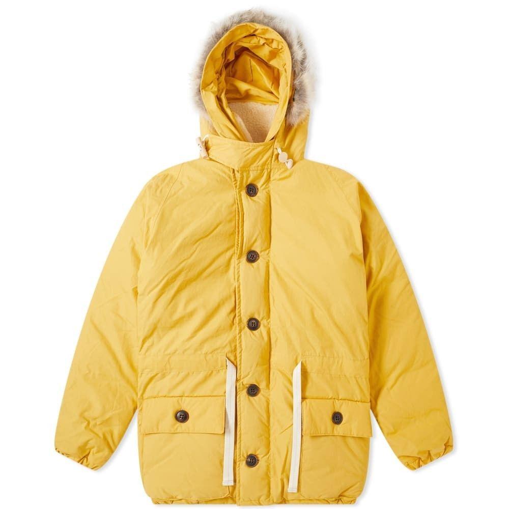 ナイジェルケーボン Nigel Cabourn メンズ コート アウター【Everest Parka】Vintage Yellow
