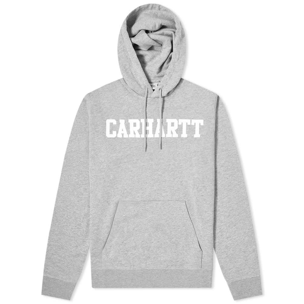 カーハート Carhartt WIP メンズ パーカー トップス【Hooded College Sweat】Grey Heather