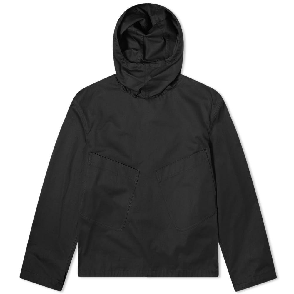ヴァレンティノ Valentino メンズ アウター 【Large Pocket Popover Hooded Smock】Black