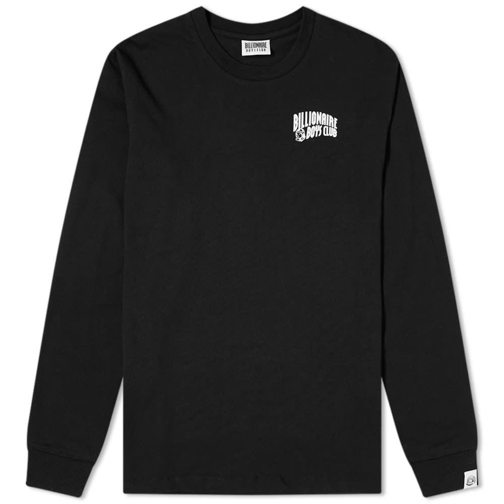 ビリオネアボーイズクラブ Billionaire Boys Club メンズ 長袖Tシャツ ロゴTシャツ トップス【Long Sleeve Small Arch Logo Tee】Black